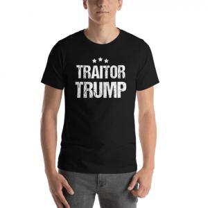 Traitor Trump T-shirt (foto etsy)