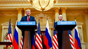 Trump en Poetin (foto livejournal)