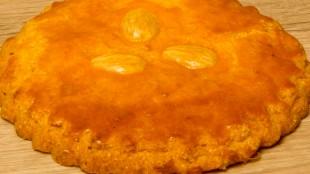 Gevulde koek (foto Banketbakkerij Den Hollander)