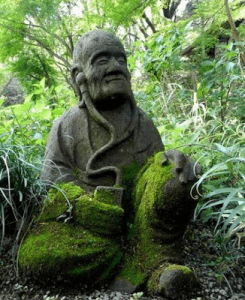 Japans standbeeld jyoukei-ji tempel - underproductz (5-1-16)