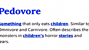 Pedovore (foto YouTube)