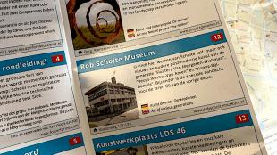 Rob Scholte Museum in nieuwe publikatie van Citymarketing Den Helder (foto Halfords)
