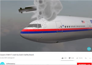 Screenshot Cause of MH17 crash by Dutch Safety Board