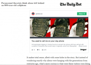 Screenshot The Daily Dot