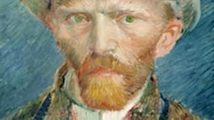 Vincent van Gogh - Zelfportret (foto Kaartje2go)