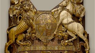 Dieu et mon droit (foto Rijksmuseum)