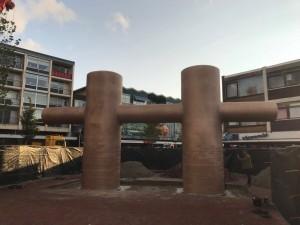 Dubbele bolder kolder (foto Handhaving Den Helder)