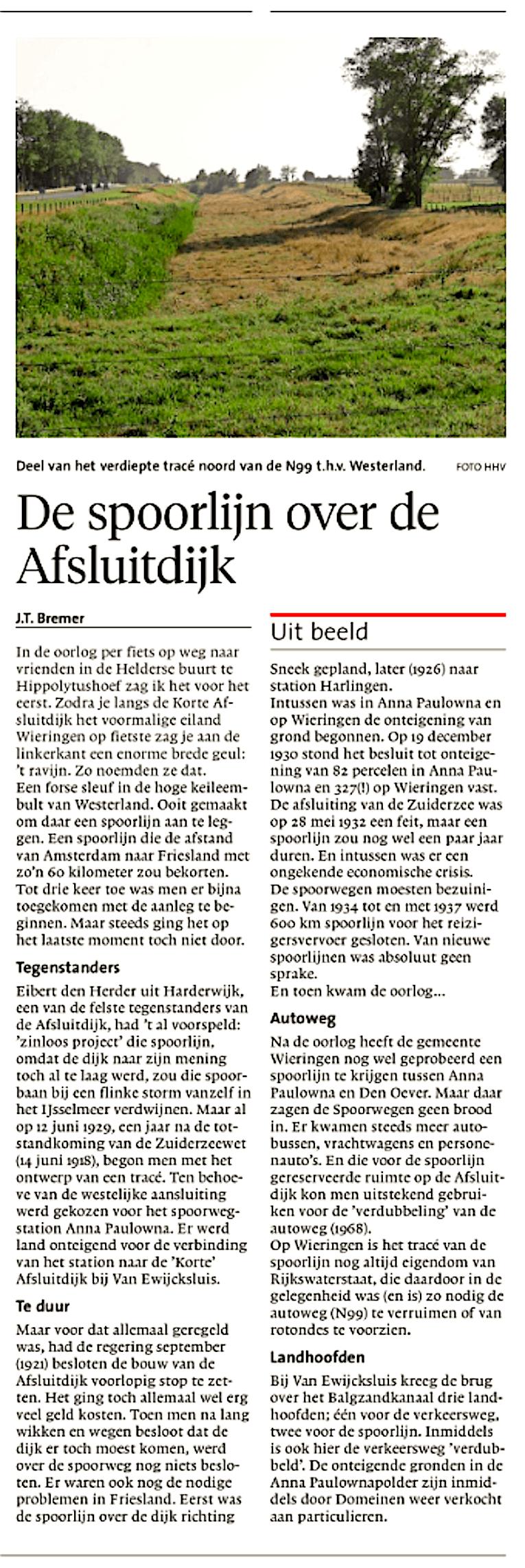 Helderse Courant, 27 augustus 2018