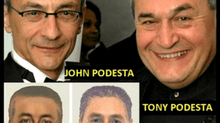John & Tony Podesta look like the police sketch of men wanted in the abduction of Madeleine McCann (foto Wikipedia)