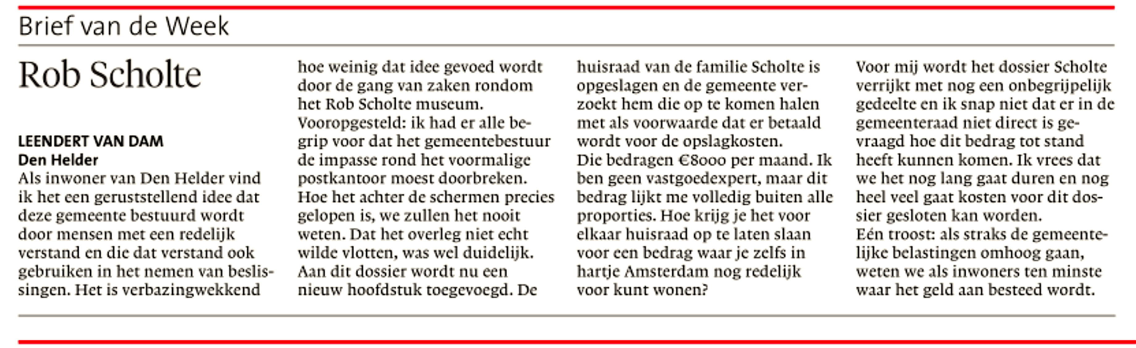 Helderse Courant, 15 september 2018