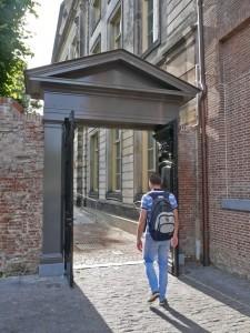 Poort bij het Noordbrabants Museum