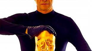 The artist Maurizio Cattelan (foto Pierpaolo Ferrari)