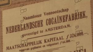 Aandeel Nederlandsche Cocaïnefabriek (detail, foto CC)