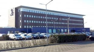 Het huidige gemeentehuis van Den Helder op het Kooypunt, waar ook de Rabobank nog altijd zetelt (foto DHA)