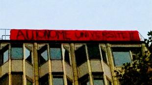 Autonome Universiteit (foto Enzo Rossi:Twitter)