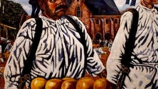 Charley Toorop - Kaasmarkt van Alkmaar (foto Stedelijk Museum Alkmaar)
