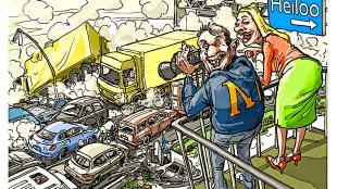 Frank Muntjewerf - Plannen voor een uitkijktoren bij de nieuwe afslag Heiloo op de A9