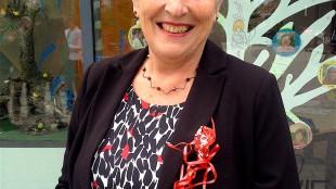 Hetty Hafkamp, burgemeester van Bergen (foto Plastic Soup Foundation)