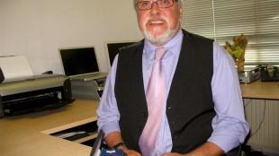 Kees de Jager, één van de onderzoekers van de rolstoeltoegankelijkheid van Den helder (foto HMC)