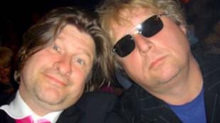 Rob Muntz & Theo van Gogh (foto De Inburgerking)