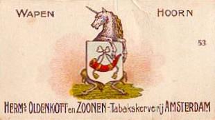 Wapen van Hoorn (foto Heraldry of the world)