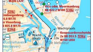 Den Helder is een druk vaarknooppunt waar veel beroeps- en recreatievaart bij elkaar kom (Varen doe je samen!:Twitter)