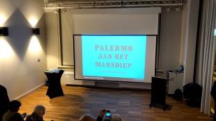 In gespannen afwachting van de presentatie van Palermo aan het Marsdiep van Chris Aalberts (foto Willem Koning/Twitter)