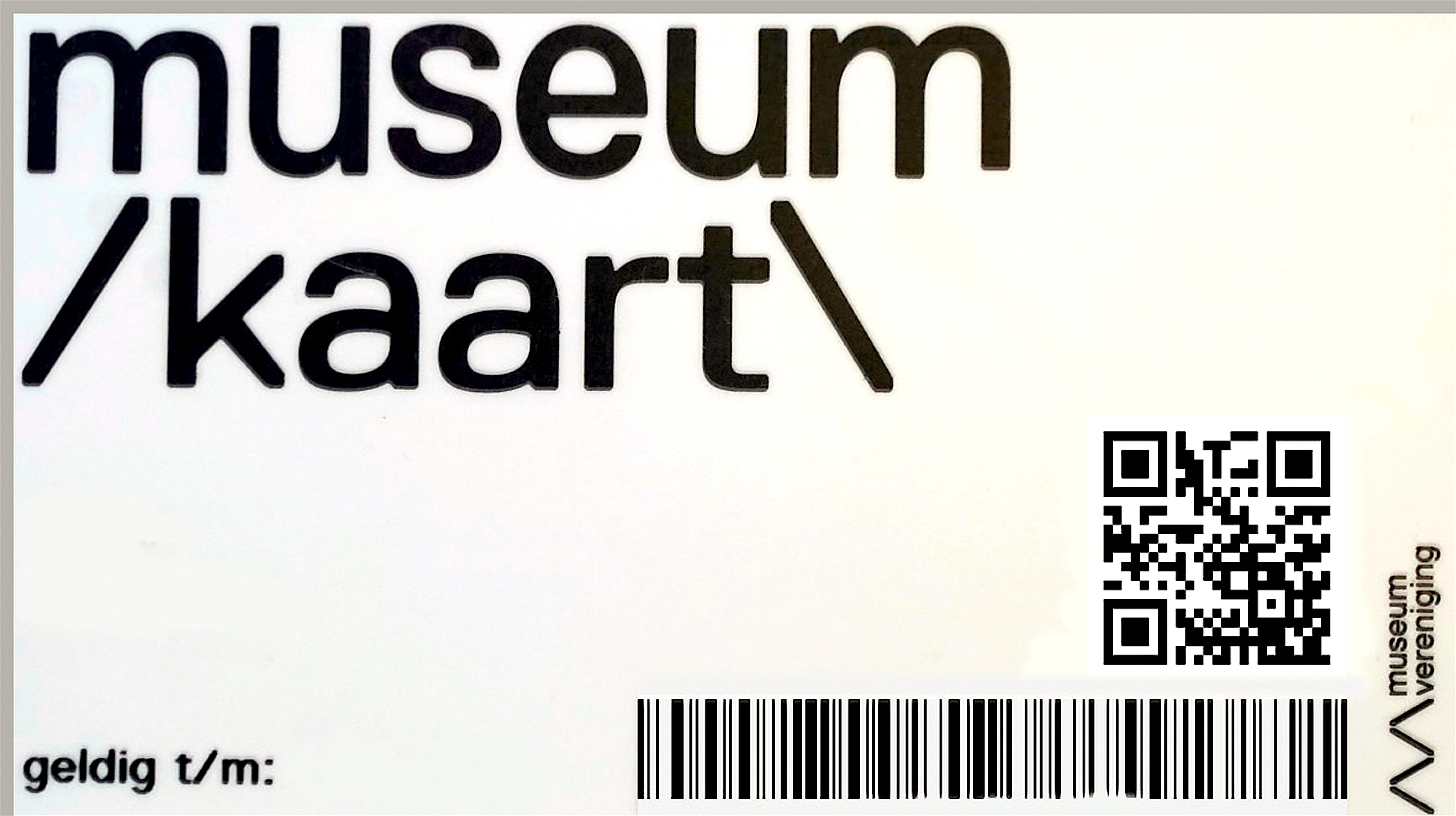Museumkaart (foto PlusOnline)