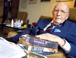 Nee, Jaap Soesan (95) geeft de strijd niet op, ondanks verzoeken van zijn kinderen (foto Anko Stoffels)
