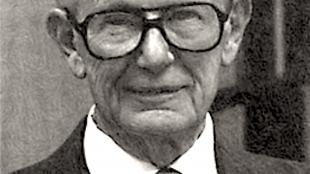 Portrait of John G. Trump of MIT, physicist, colleague of Robert J. Van de Graaf, c. 1979 (foto Wikipedia)