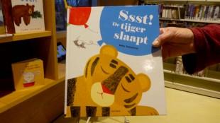 Ssst! De tijger slaapt,  het favoriete voorleesboek van burgemeester Schuiling (foto Ontdek Den Helder)
