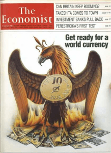 The Economist cover 1988