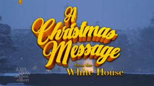 A Christmas Message from the White House (foto YouTube)