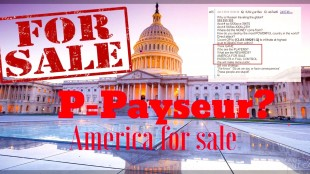 America for sale (foto Twitter)