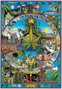 Cannabis Sativa Mandala