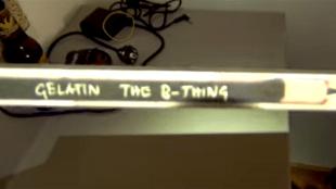 Gelatin B-Thing (foto YouTube)