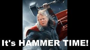 It's HAMMER TIME! (Bond Robin 25-12-18)