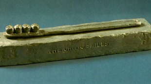 Jasper Johns - The Critic Smiles (foto rudedo.be)