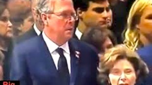 Jeb & Laura Bush (foto Before It's News)