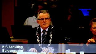 K.F. Schuiling, burgemeester van Den Helder (foto gemeente DH)