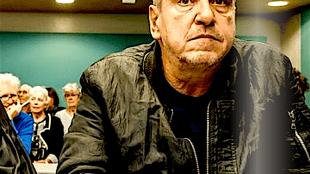 Rob Scholte bij een eerdere rechtzitting (foto Erna Faust, detail)