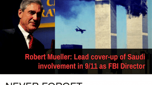 Robert Mueller: Lead cover-up of Saudi involvement in 9/11 as FBI director (foto Before It's News)