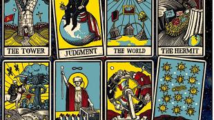The Economist Magazine Tarot Cards (Voorspelling voor 2017)