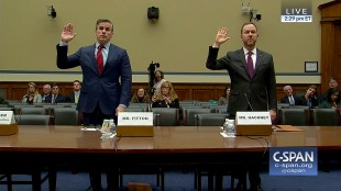 Tom Fitton & Phillip Hackney Testify Before Congress on the Clinton Foundation (foto YouTube)