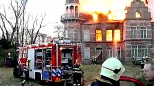 De mysterieuze brand van het landhuis Zionsburg in 2003 in Vught