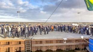 De opening van de Kooyhaven, maart 2017 (foto Peter van Aalst)