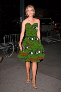 Ivanka in Pepe-dress (Craig Mason 16-11-18)
