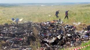 MH17 downed (foto Zero Hedge)