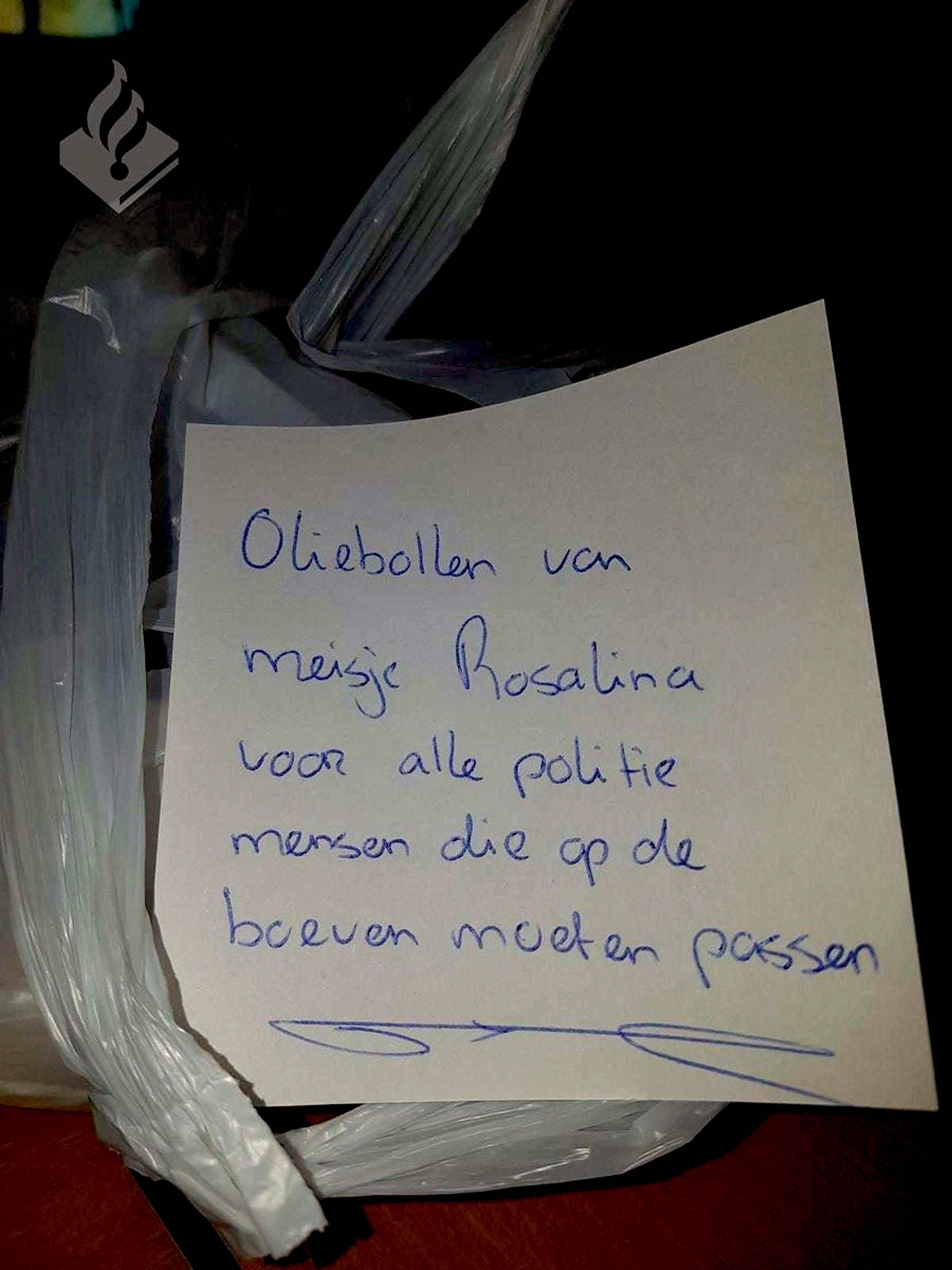 Oliebollen van Rosalina (foto NHD)