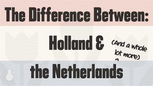 The difference between Holland & the Netherlands (foto YouTube)